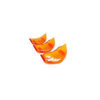 【VESPA】PROJECTA 衝刺 春天 PAS 透明系列 喇叭飾蓋 三套件組 橘款