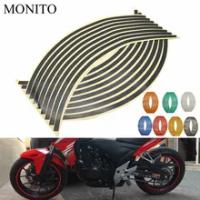 2019 Motorcycle Wheel Sticker Reflective Decals Rim Tape Strip For yamaha aerox155 mt03 aerox 155 yz 125 fz8 xsr700 Accessories