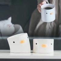 PURROOM 陶瓷碗 陶瓷小雞碗 貓碗 寵物碗 貓咪陶瓷碗 斜口貓碗 寵物斜口碗 寵物 貓 狗 陶瓷 碗