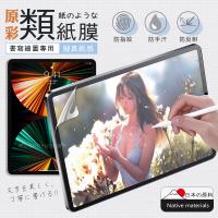 【XUNDD 訊迪】iPad Pro 12.9吋 2021/2020/2018通用 原彩磨砂類紙膜保護貼