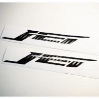 【LFM】SIREN JET FNX 碳纖維 LOGO 貼紙 套組一對左右 貼片 JETS125 FNX125 ABS