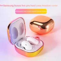Earphone Case For Samsung Galaxy Buds Pro Buds Live Transparent PC Bluetooth Headset Phone Cover For Samsung Galaxy Buds