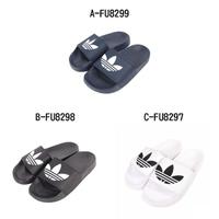 【adidas 愛迪達】男女 ADILETTE LITE 拖鞋 - A-FU8299藍 B-FU8298黑 C-FU8297白 D-FU9139粉 E-H05680粉白