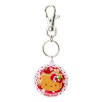Hello Kitty 鑰匙圈-草莓鬆餅,包包掛飾/鑰匙圈/吊飾/鎖圈,X射線【C623459】