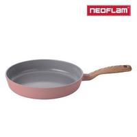 【NEOFLAM】RETRO抗菌系列28cm平底鍋乾燥玫瑰粉(IH爐適用/不挑爐具)