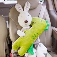 韓國卡通兒童汽車安全帶套 安全帶靠枕/安全帶護套/安全帶護肩套/抱枕/安撫玩偶/側枕【HM06】