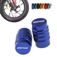 Wheel Tire Valve caps CNC Aluminum Airtight Covers For Yamaha Aerox 155 2017 2018 Aerox155 NVX155 Motorcycle Accessories Parts