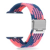 2021ความยาวปรับไนลอน Applewatch Band Braided Solo สร้อยข้อมือสำหรับ IWatch Series 6 SE 5 4 3 2 1