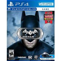 【SONY 索尼】PS4 蝙蝠俠 阿卡漢 VR 英文美版(Batman: Arkham VR)