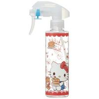 小禮堂 Hello Kitty 透明噴霧空瓶 塑膠噴霧罐 酒精噴瓶 分裝瓶 200ml (紅 鬆餅)
