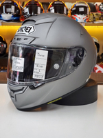 預購商品 任我行騎士部品 日本SHOEI X-14 X14 消光鐵灰 浮動鏡片 全罩 安全帽 素色 可PFS