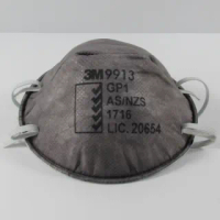 【3M】清理壁癌/環境清潔/噴塗油漆必備/P1級防護活性碳口罩-2入(防範PM2.5)