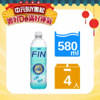 【黑松】黑松FIN乳酸菌補給飲料(580ml X4入)