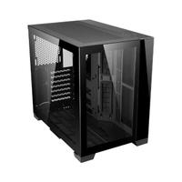 【LIAN LI 聯力】O11 Dynamic MINI ATX玻璃透側機殼 黑(O11D Mini-X/GPU:395MM/CPU:170MM)