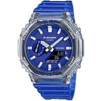 【CASIO 卡西歐】G-SHOCK HIDDEN COAST秘境海岸系列八角雙顯手錶(GA-2100HC-2A)