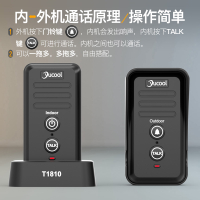 門鈴 進門提示器 語音對講門鈴無線家用可移動雙向對講機遠距離通話緊急老人呼叫器