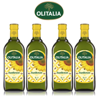 (老爹特惠)【奧利塔olitalia】葵花油1000ml (4瓶禮盒組)A270002x4