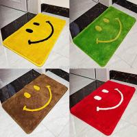 ❤【地毯地墊】 家用大紅色客廳地毯 浴室綠色吸水腳墊 金黃色門口進門地墊 門墊臥室