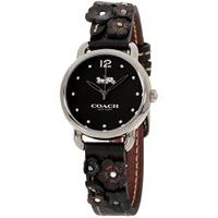 COACH【美國代購】女錶 經典雕花錶帶14502816