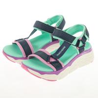 【SKECHERS】女 健走系列涼鞋 MAX CUSHIONING SANDAL(140125NVMT)