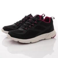 【MOONSTAR 月星】介護鞋3E寬楦輕量防止絆倒鞋款-女款(ADL056黑-23-25cm)