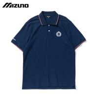 MIZUNO SPORTS STYLE 男款短袖POLO衫 D2TA101513(靛藍)【美津濃MIZUNO】
