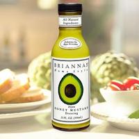 【美國BRIANNAS】第戎蜂蜜芥末醬/沙拉醬(355ml)