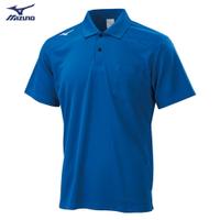 男款短袖POLO衫 32TA002022(藍)【美津濃MIZUNO】