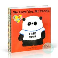 Mr Panda! (5 Books) | 外文 | 繪本 | 熊貓先生 | 品格繪本 | 培養良好生活習慣 | 體貼 | 禮貌 | 尊重 | 紐約插畫協會最佳童書 | 英國語文讀寫學會3-6歲推薦書獎