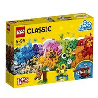 LEGO 樂高 Classic 經典系列 10712 顆粒與齒輪 【鯊玩具Toy Shark】