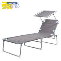 【Campart Travel】荷蘭墾旅 五段遮陽折疊躺椅(BE-0626)