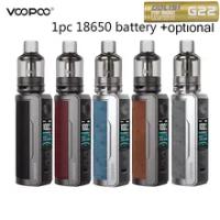 VOOPOO Drag X Plus Kit Asli 5.5Ml TPP Cartridge Tangki Pod 21700/18650 Baterai DM1 DM2 Gulungan Rokok Elektronik Porizer