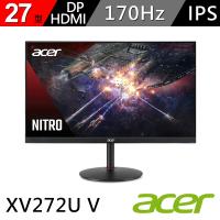 【Acer 宏碁】XV272U V 27型Nitro 2K HDR廣視角電競螢幕