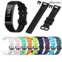 🚀時美3C店🚀適用於華為手環3 pro 華為band 3/華為4pro表帶智能手錶替換腕帶