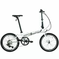 Folding Bicycle Dahon Bike KAC082 LAUNCH 2000 P8 8-Speed Chrome Molybdenum Steel Frame Easy Carry city Commuting Outdoor Sport