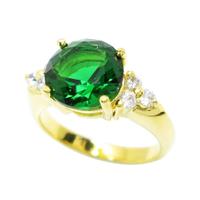 แหวนทอง ประดับมรกต