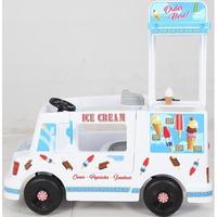 【淘氣寶寶】【如雷ROLLPLAY】兒童電動餐車 冰淇淋胖卡電動車