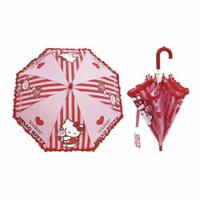 【領券滿額折50】Hello Kitty 小童傘(雨傘/兒童直傘)446-65330★愛兒麗婦幼用品★