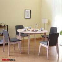 餐桌椅組 餐桌 餐椅 餐廳  RICHOME TA364+CH1223 阿爾娃餐桌椅組(一桌四椅)-2色