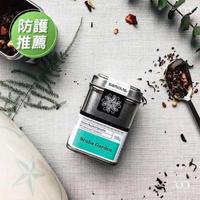【samova 歐洲時尚茶飲】藻華綠博士茶/無咖啡因/Scuba Garden 潛遊花園(Tea Tin Mini系列)