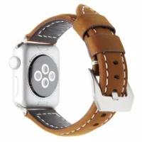 หนัง Correa สำหรับ Apple Watch Band 42มม.44มม.Horlogebandjes สำหรับ Applewatch Iwatch Series 5 4วง38 40มม.เข็มขัด