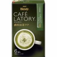 日本 AGF Blendy 即沖濃厚抹茶拿鐵 72g(6條入)