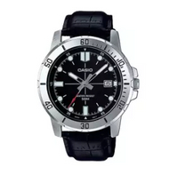 CASIO   นาฬิกาข้อมือผู้ชาย รุ่น MTP-VD01L สายหนัง