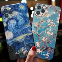 สำหรับCoque Iphone 12 11 Pro 12Pro Max Mini 6 7 8 6S Plus 5 5S 3D artสำหรับFunda Iphone XR X XS Max SE 2020กรณีของApple