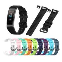 適用於 Huawei Band 3 / Band 3 Pro / Band 4 Pro 腕帶更換的運動矽膠錶帶, 原裝柔