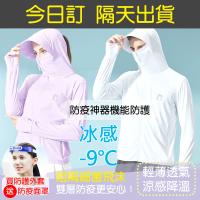 【ALVA】防疫神器-涼感降溫機能全防護外套(再送防疫面罩)