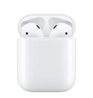 AURORA 蘋果原廠 APPLE AirPods 2 藍芽耳機 搭配有線充電盒