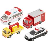 【TOMICA】小汽車組 緊急車輛組(小汽車組)