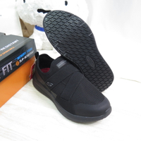 Skechers ELLOREE 寬楦 女款 健走鞋 防潑水 108008WBLK 黑【iSport】