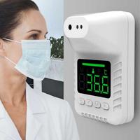 K3X 非接觸式壁掛自動測溫機 紅外線測溫 大螢幕 高溫預警 多種安裝方式